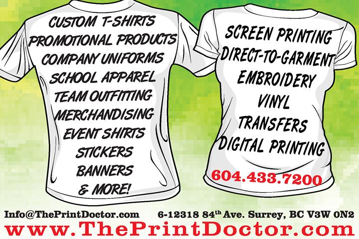 Custom Printing Delta BC