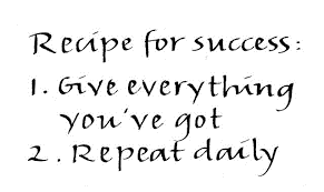Recipe for Business Success