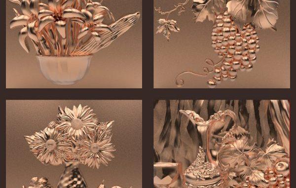 Preparing 3D STL models for 3D CNC Printing