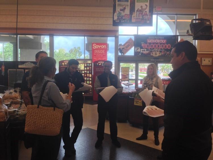 Team FreshSource In-Store Planning Meeting